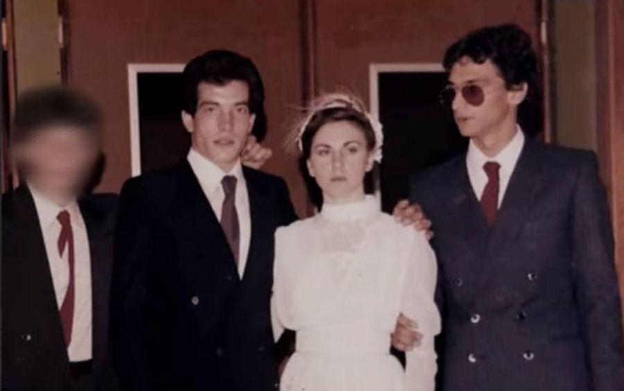 Маттео Мессина Денаро (крайний справа). Фото © Netflix