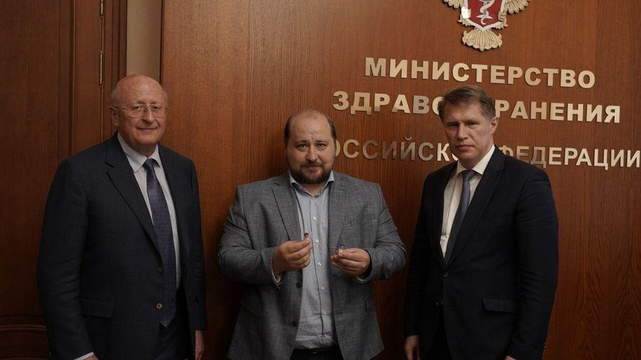 Фото © Пресс-служба Минздрава России / Дмитрий Куракин