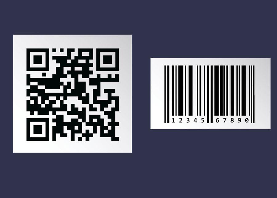 QR-код (слева) и штрихкод (справа). Их принцип работы один и тот же. Фото © Shutterstock