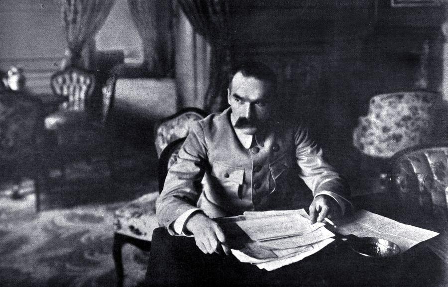 Юзеф Пилсудский, глава Польского государства, 1919 год. Фото © Getty Images / Photo12 / UIG