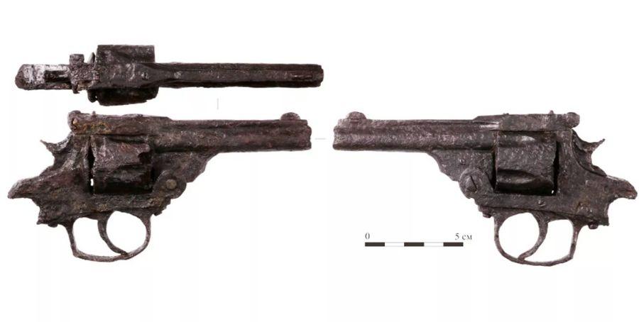 Револьвер советского милиционера. Фото © Mos.ru