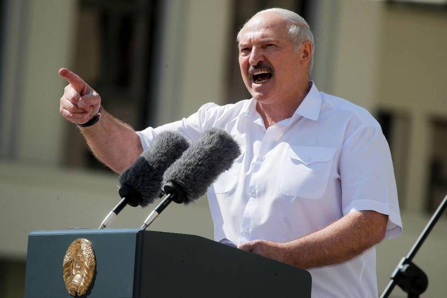 <p>Президент Белоруссии Александр Лукашенко. Фото © ТАСС / AP Photo / Dmitri Lovetsky</p>
