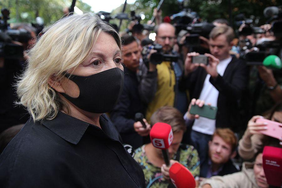 Татьяна Беркович стала вторым свидетелем защиты. Фото © ТАСС / Бобылев Сергей