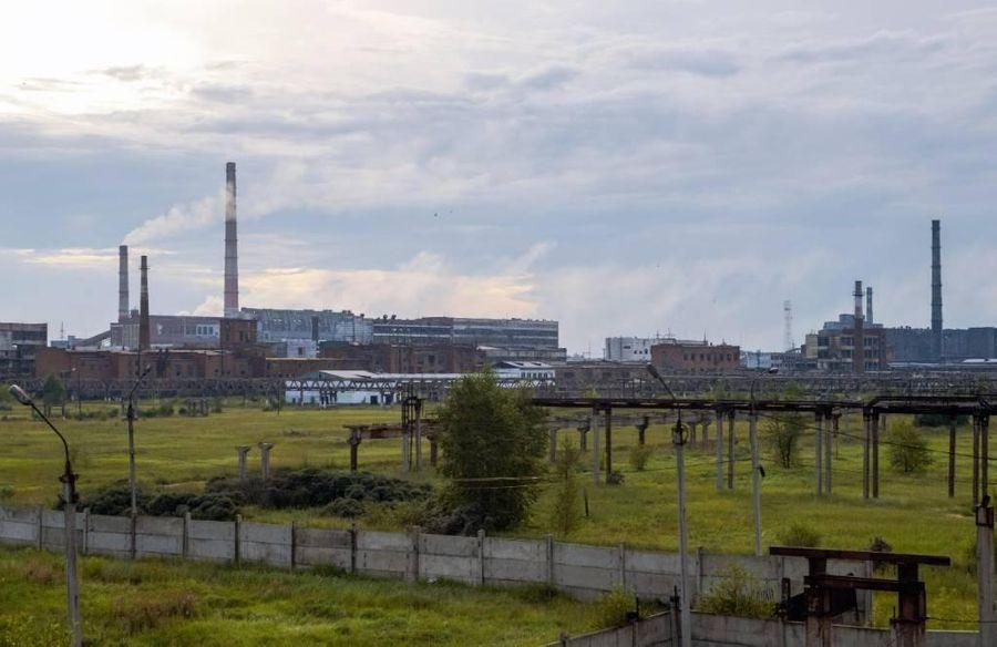 """<p>Завод """"Усольехимпром"""". Фото © ТАСС / Владимир Байкальский</p>"""