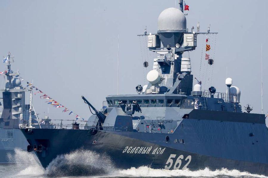 """<p>Малый ракетный корабль """"Зелёный Дол"""". Фото © ТАСС / Виталий Невар</p>"""