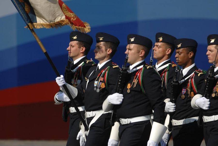 <p>Военнослужащие из Франции. Фото © ТАСС / Валерий Шарифулин</p>