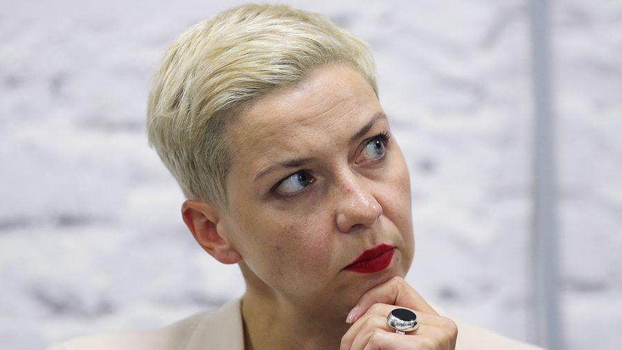 <p>Мария Колесникова. Фото © ТАСС / Сергей Бобылев</p>
