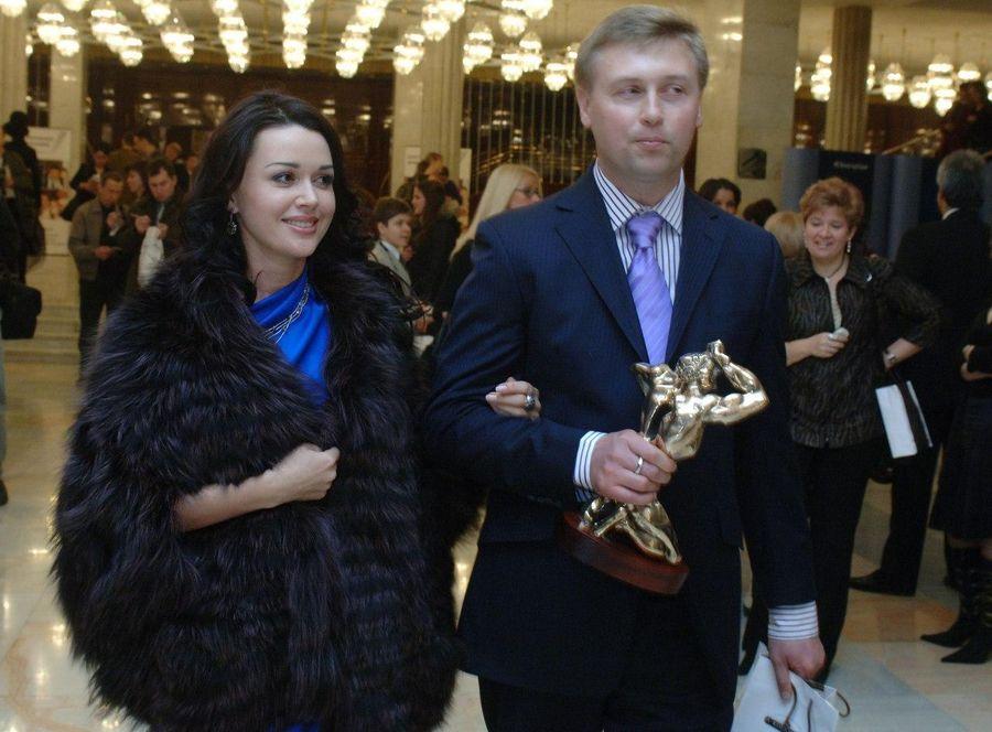 Анастасия Заворотнюк и Дмитрий Стрюков. Фото © ТАСС / Александр Саверкин