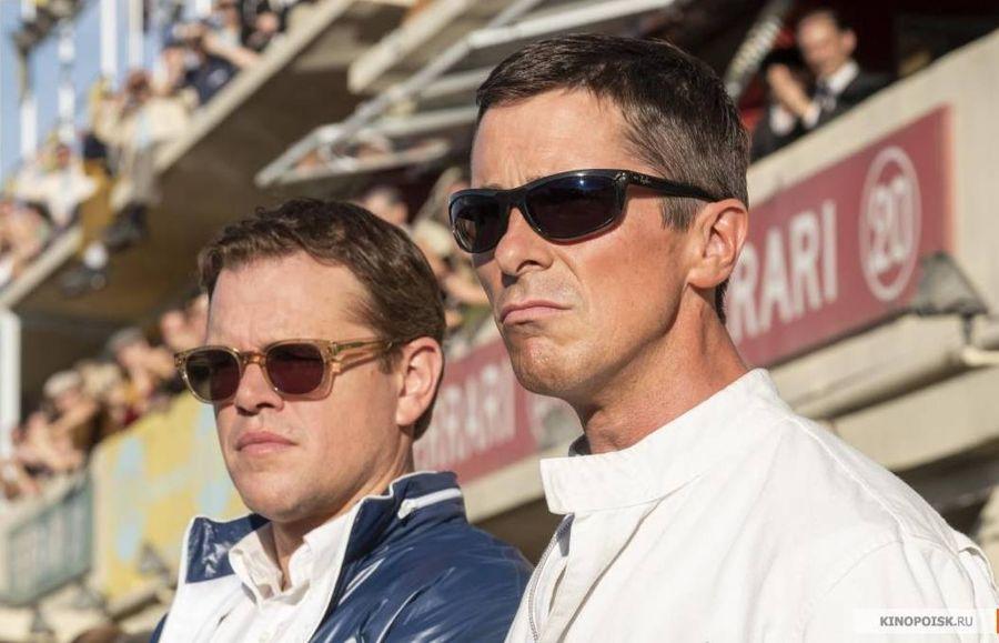 """Деймон в роли Шелби (слева). Кадр из фильма """"Ford против Ferrari"""" © kinopoisk.ru"""