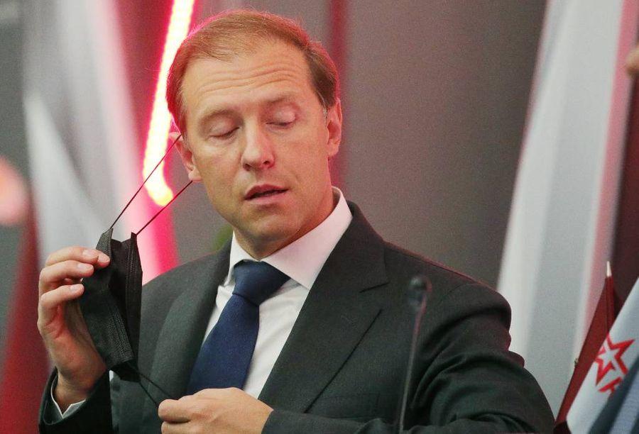 <p>Министр промышленности и торговли Денис Мантуров. Фото © Сергей Бобылев / ТАСС</p>