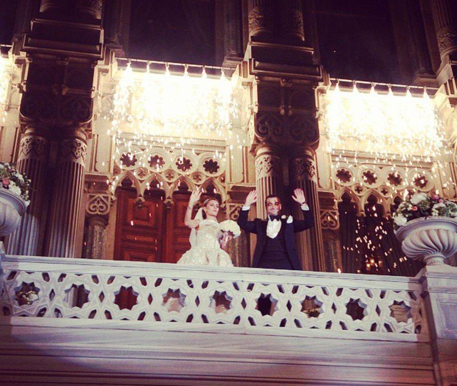 Свадьба Екатерины Федун и Юхана Гераскина. Фото © Instagram / dy1ov