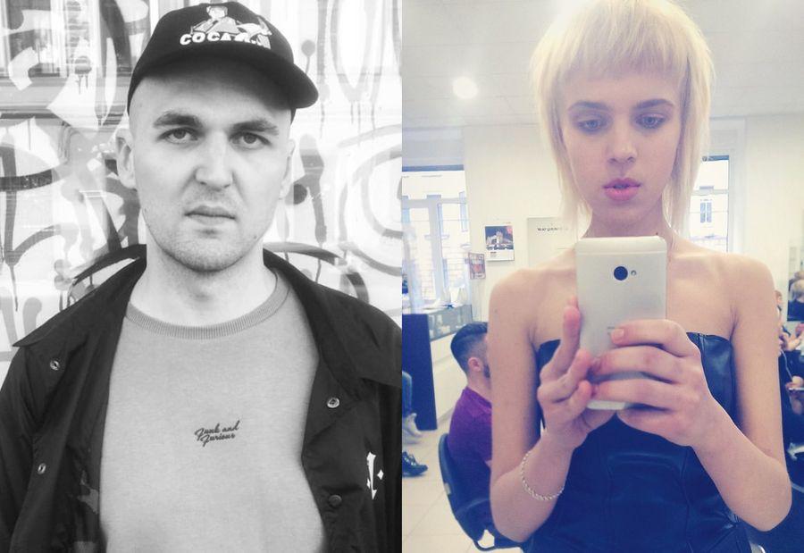 Надежда Романенко и Энди Картрайт. Фото © Соцсети