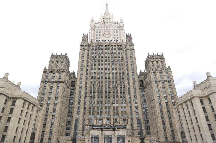 <p>Здание МИД РФ в Москве. Фото © ТАСС / Антон Новодережкин</p>