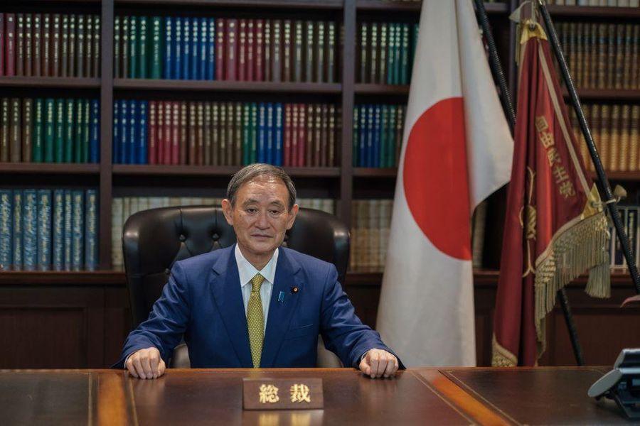 <p>Ёсихидэ Суга. Фото © EPA / TASS</p>