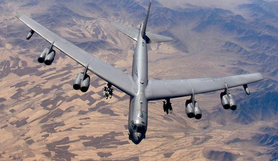 """<p>Фото © <a href=""""https://ru.wikipedia.org/wiki/Boeing_B-52_Stratofortress#/media/%D0%A4%D0%B0%D0%B9%D0%BB:B-52_over_Afghanistan.JPG"""" target=""""_blank"""" rel=""""noopener noreferrer"""">U.S. Air Force</a></p>"""