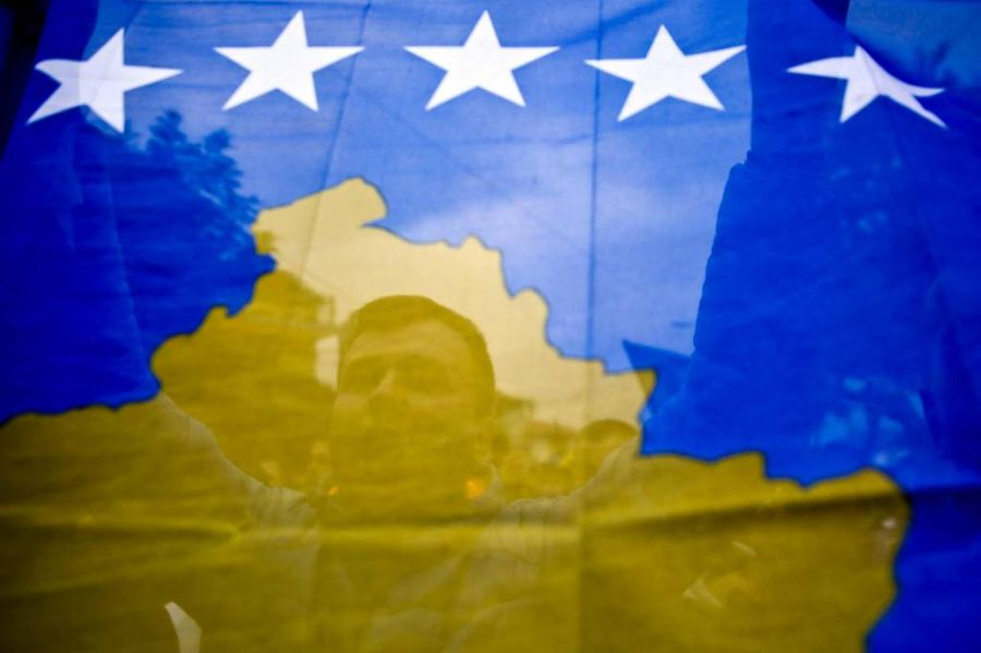 <p>Флаг Косова. Фото © ТАСС / AP Photo / Visar Kryeziu</p>