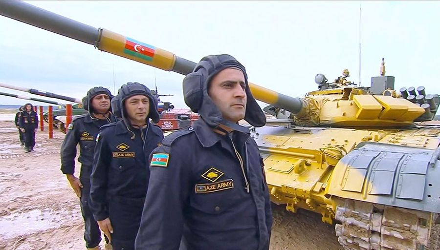 "<p>Фото © <a href=""https://mod.gov.az/ru/foto-arhiv-045/"" target=""_blank"" rel=""noopener noreferrer"">Официальный сайт Министерства обороны Азербайджана</a></p>"
