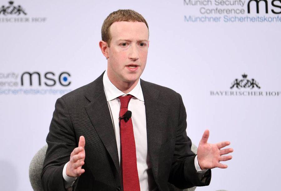 <p>Глава Facebook Марк Цукерберг. Фото © ТАСС / DPA / Tobias Hase</p>