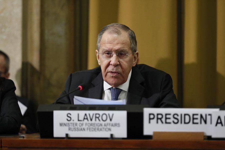 <p>Министр иностранных дел России Сергей Лавров. Фото © МИД РФ</p>