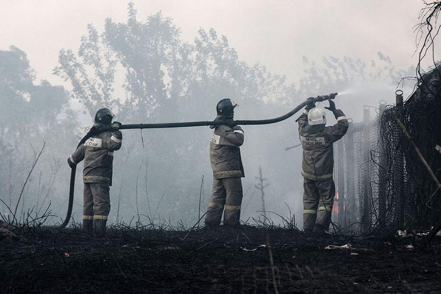 Фото © ТАСС / Пресс-служба ГУ МЧС России по Воронежской области