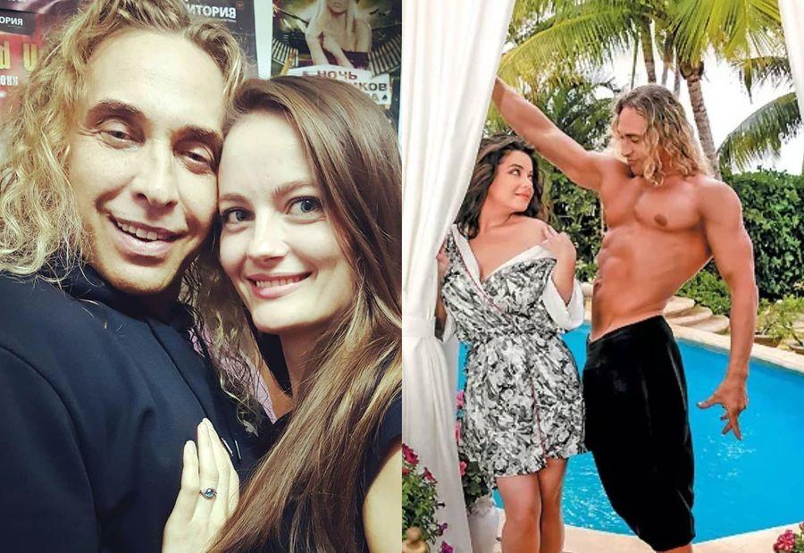 Слева — Тарзан с любовницей Анастасией Шульженко. Фото © Instagram / tarzan___official, anastasiya.shulzhenko