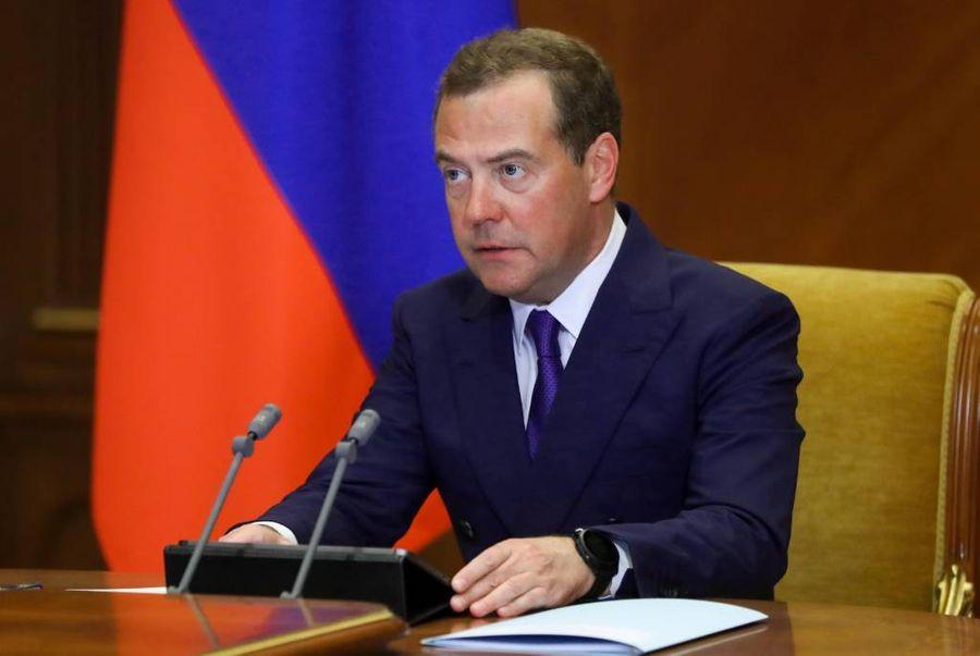 <p>Дмитрий Медведев. Фото © Екатерина Штукина / POOL / ТАСС</p>