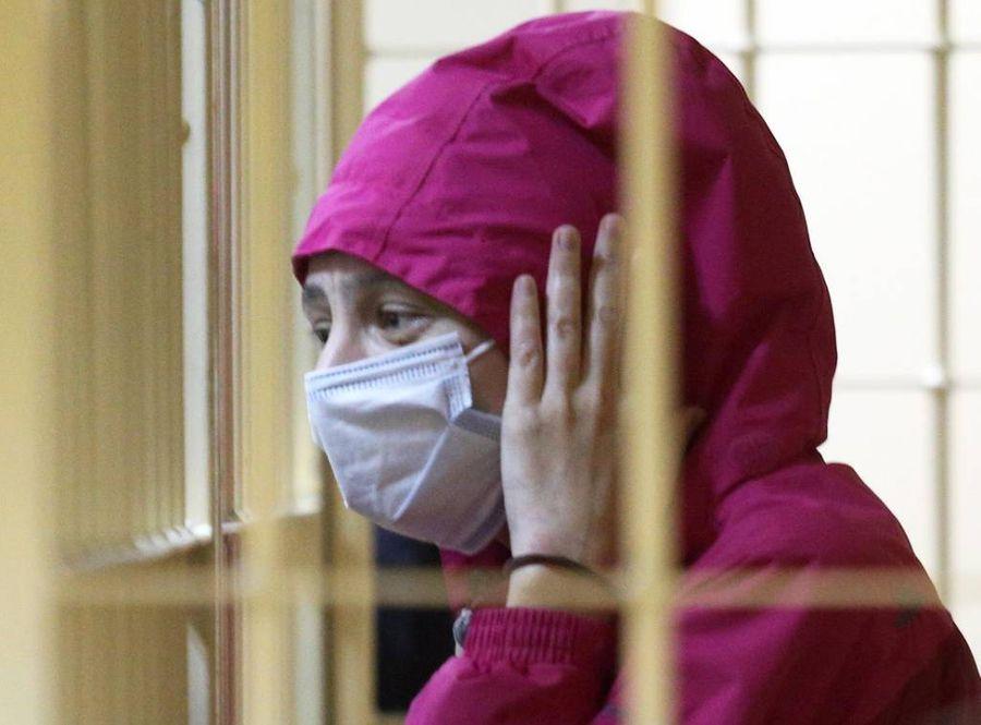 <p>Обвиняемая в убийстве мужа Марина Кохал. Фото © ТАСС / Валентин Егоршин</p>