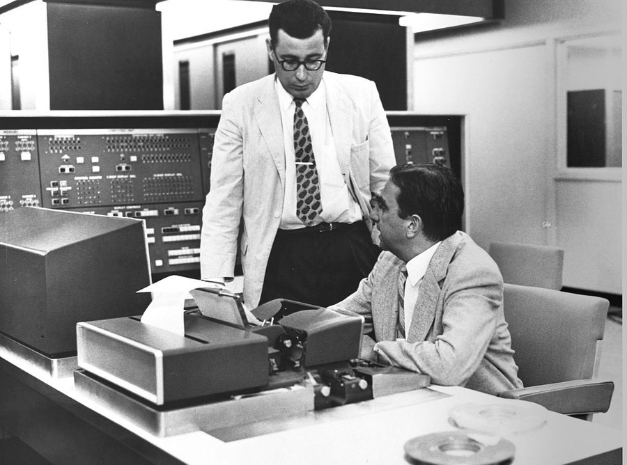 Физик Эдвард Теллер и Гарольд Браун. Фото © CORBIS / Corbis via Getty Images