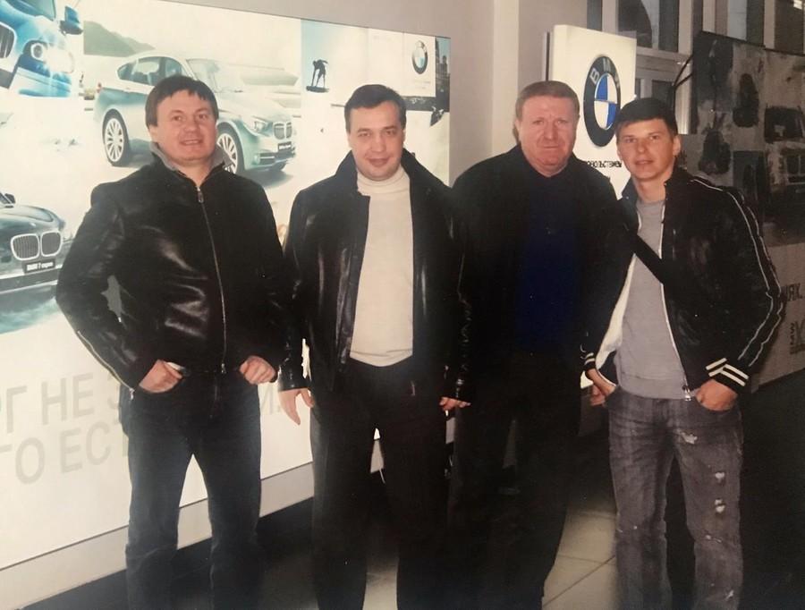 Горовой, Тиньгаев, Максим Караханов и Андрей Аршавин. Фото из личного архива