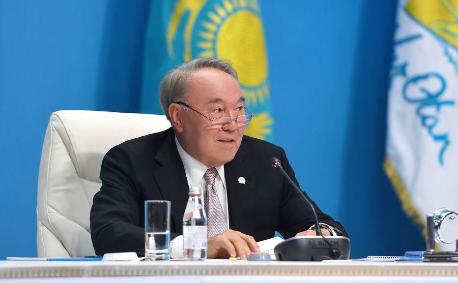 <p>Фото © Сайт Нурсултана Назарбаева</p>