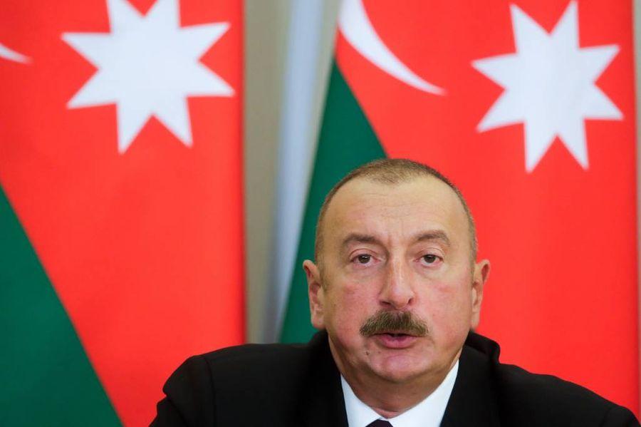 <p>Президент Азербайджана Ильхам Алиев. Фото © ТАСС / Михаил Метцель</p>