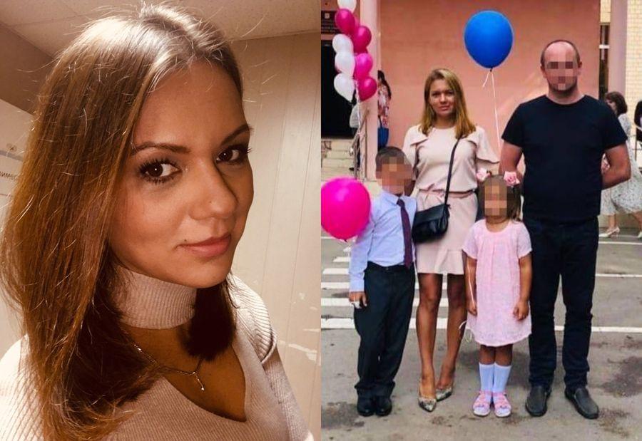 Екатерина Мартынова с мужем и детьми. Фото © Соцсети