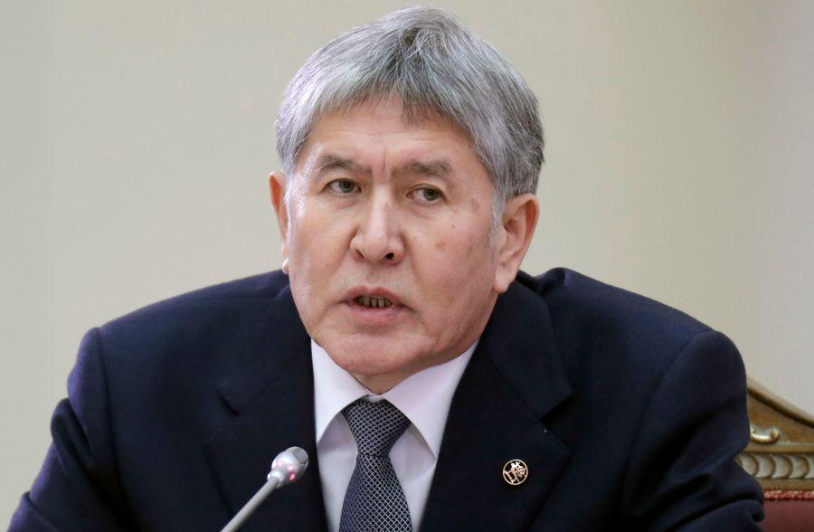 <p>Алмазбек Атамбаев. Фото © ТАСС / AP Photo / Dmitri Lovetsky</p>
