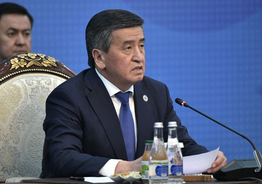 <p>Сооронбай Жээнбеков. Фото © Алексей Никольский / ТАСС</p>