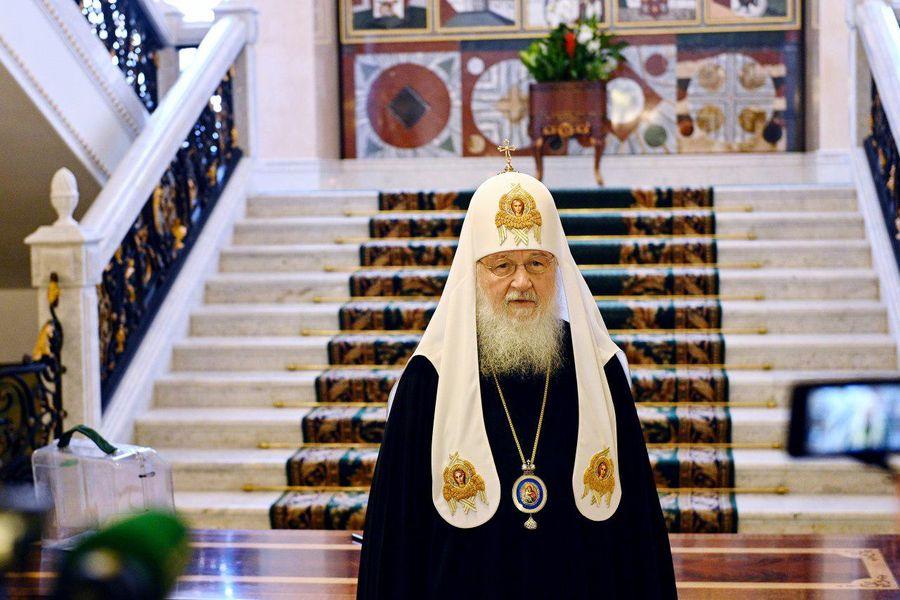 <p>Фото © ТАСС / Пресс-служба патриарха Московского и всея Руси</p>