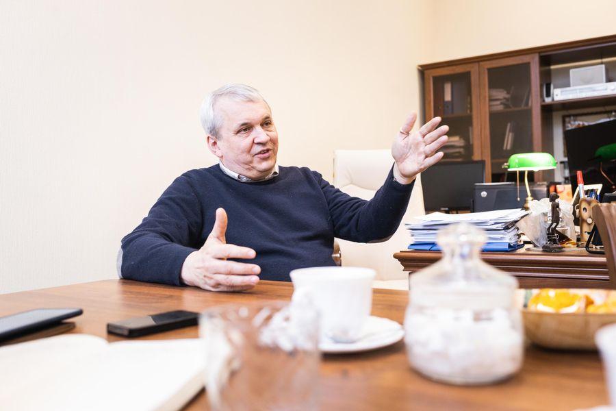 Заместитель генерального директора НИИЭФА по термоядерным и магнитным технологиям Игорь Родин. Фото ©LIFE / Стас Вазовски