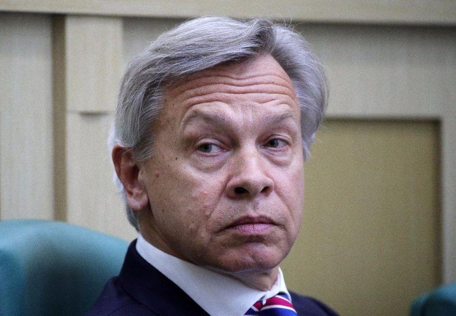 <p>Алексей Пушков. Фото © ТАСС / Сергей Бобылев</p>