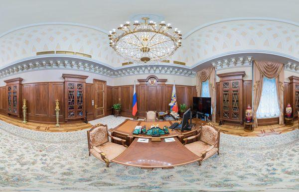 В гостях у Путина. Виртуальная экскурсия по кабинету № 1 в формате 360°