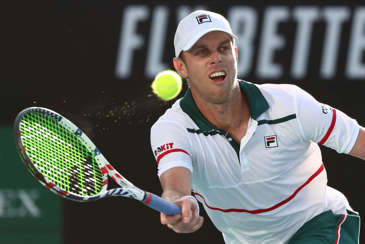 <p>Американский теннисист Сэм Куэрри. Фото © ТАСС / AP Photo / Dita Alangkara</p>
