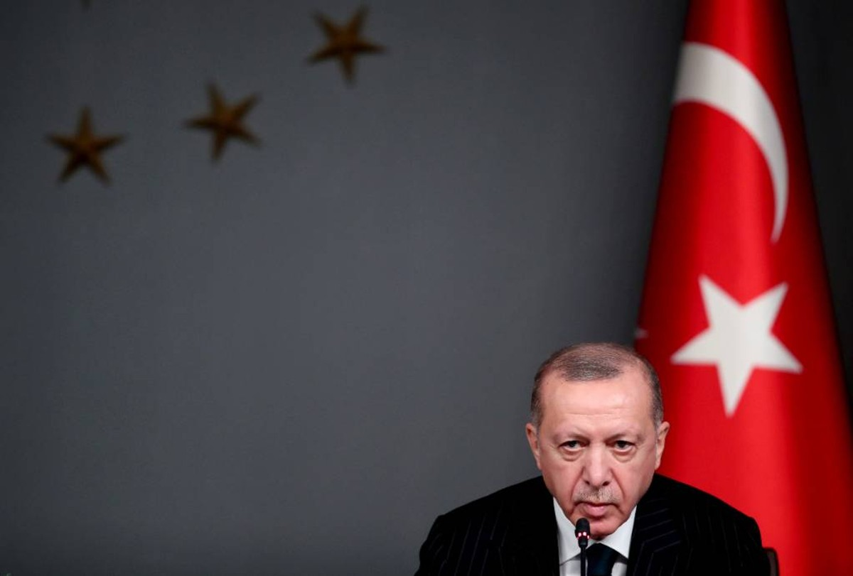<p>Президент Турции Реджеп Тайип Эрдоган. Фото © ТАСС / EPA / TOLGA BOZOGLU</p>