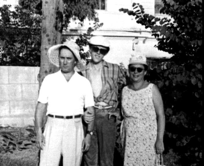 С родителями. Фото: © yavlinsky.ru