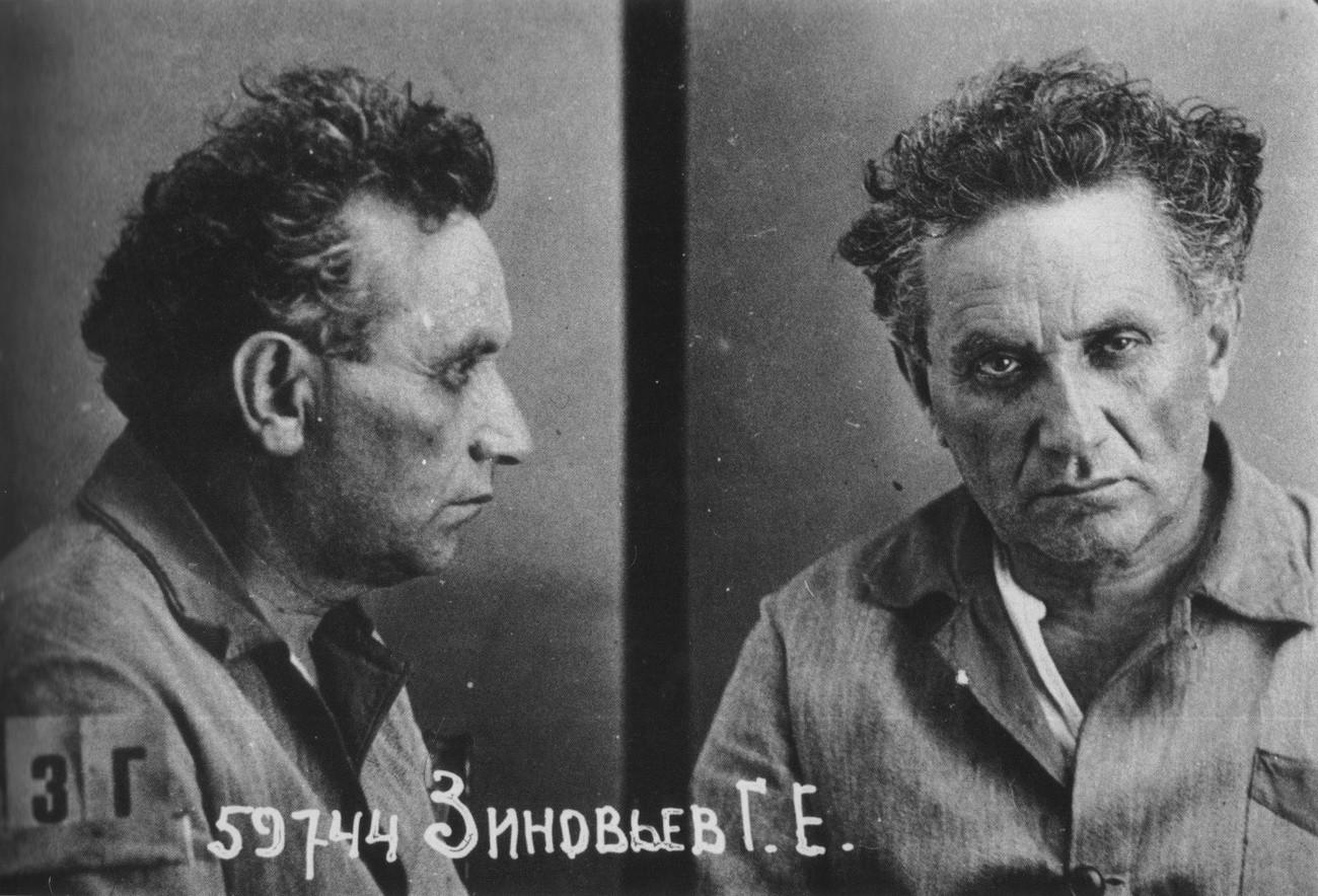 Зиновьев после ареста в 1934 году. Фото © Public Domain
