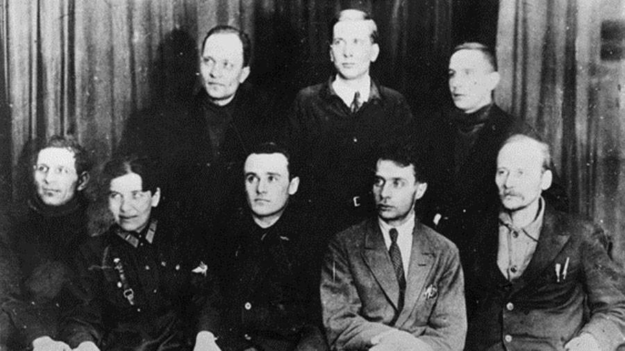 Сотрудники МосГИРД (1931) Фото © wikipedia
