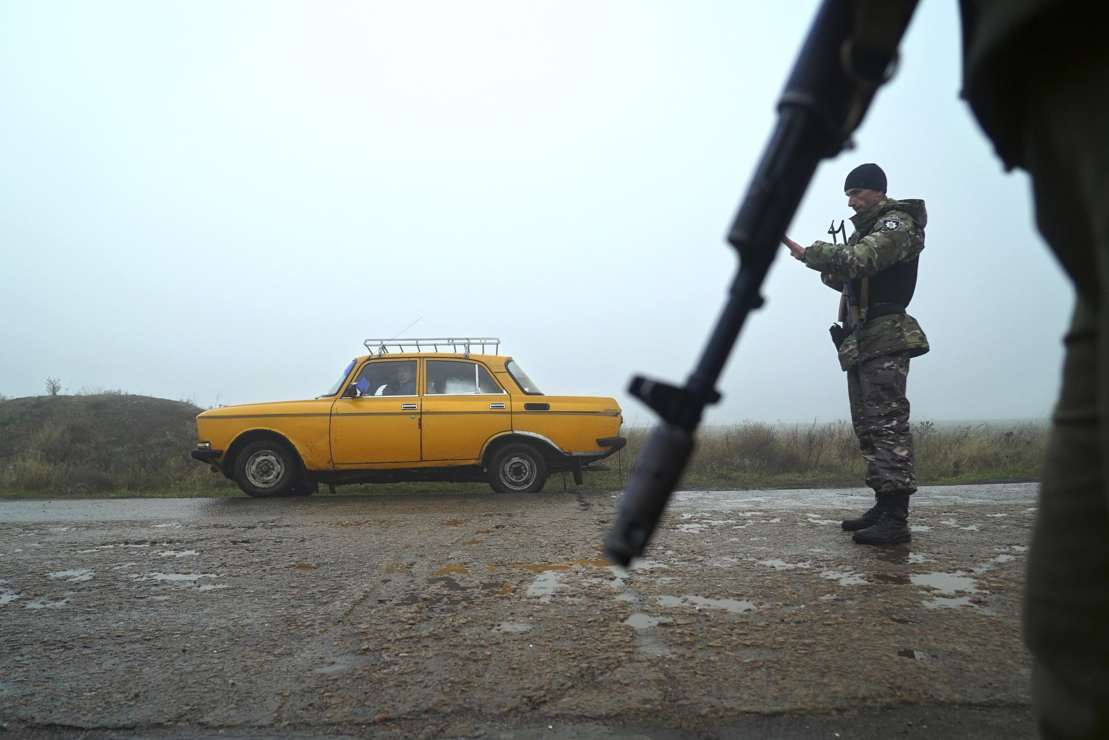 Фото © AP Photo / Evgeniy Maloletka