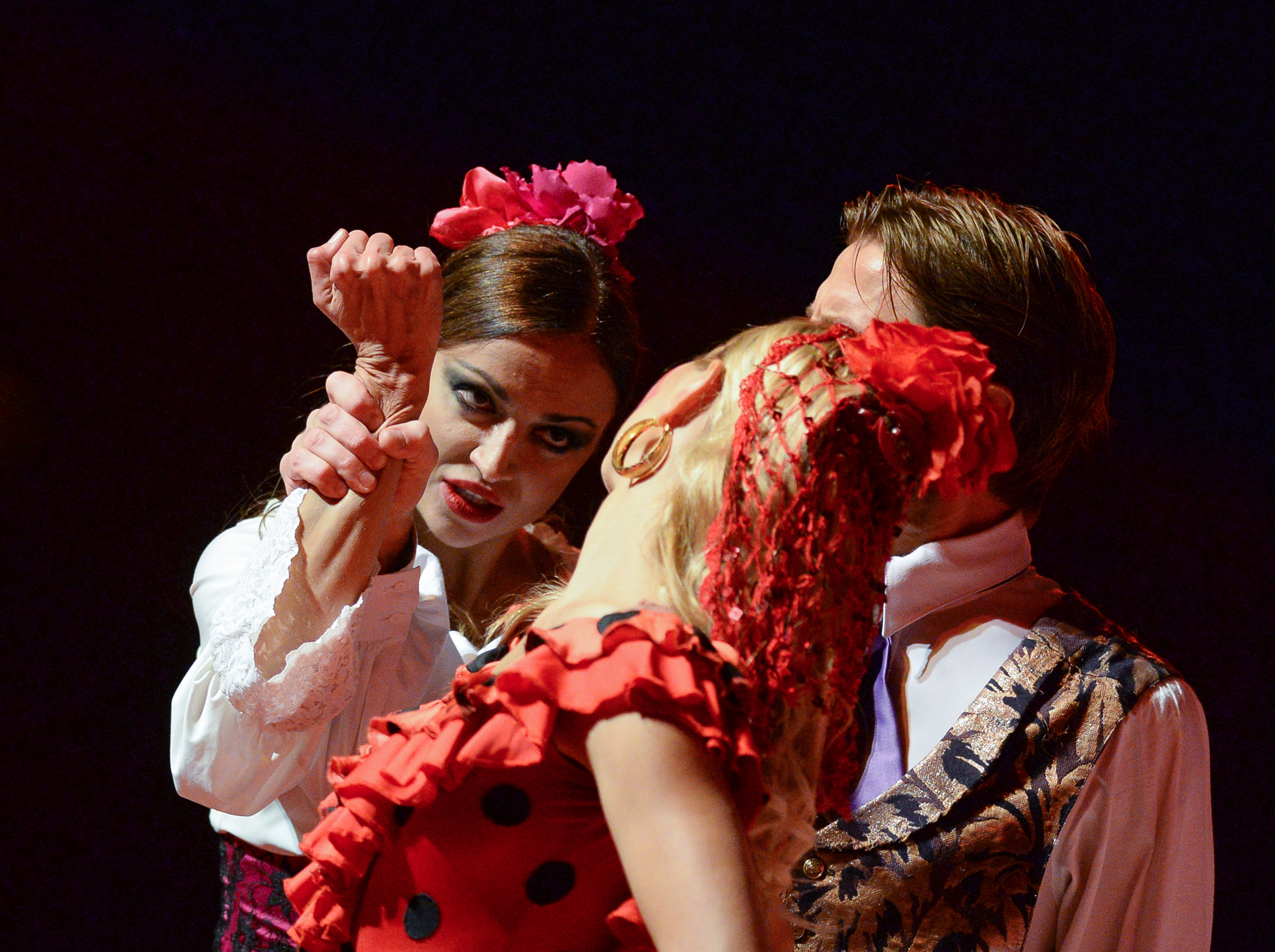 "Ледовый мюзикл ""Кармен"". Фото: © РИА Новости / Александр Вильф"