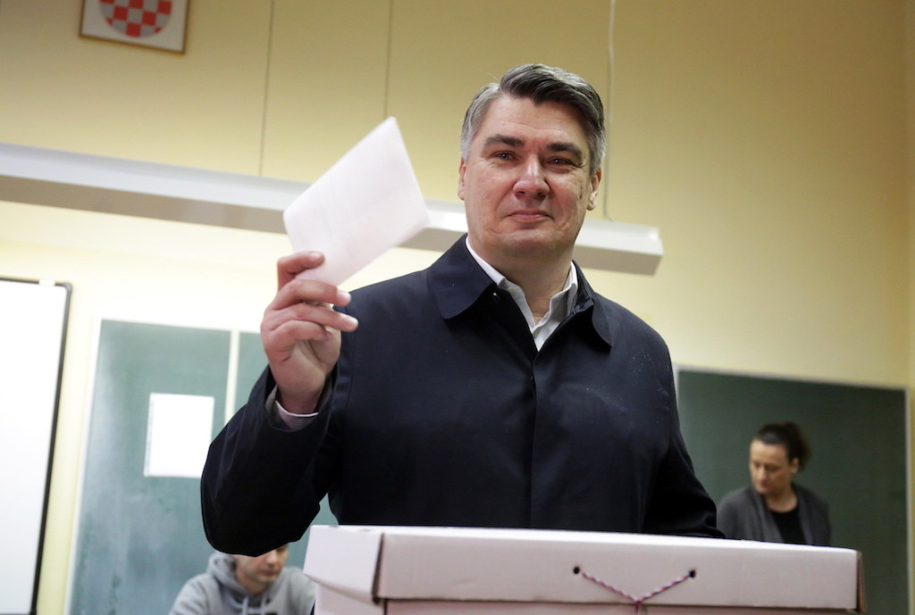 Зоран Миланович. Фото © ТАСС / ЕРА / DANIEL KASAP
