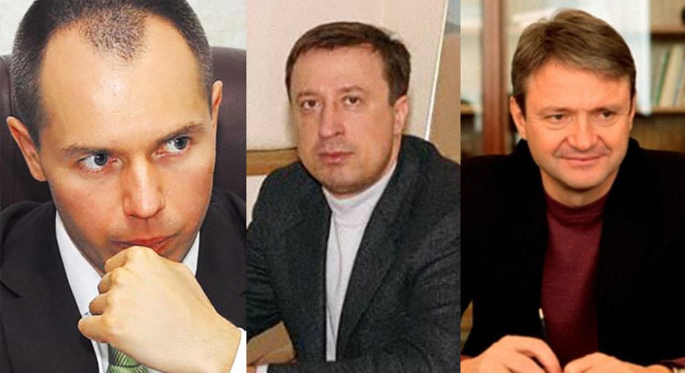 Андрей Коровайко, Фёдор Стрельцов, Александр Ткачёв. Фото © golos-kubani.ru, Свободная пресса, er.ru