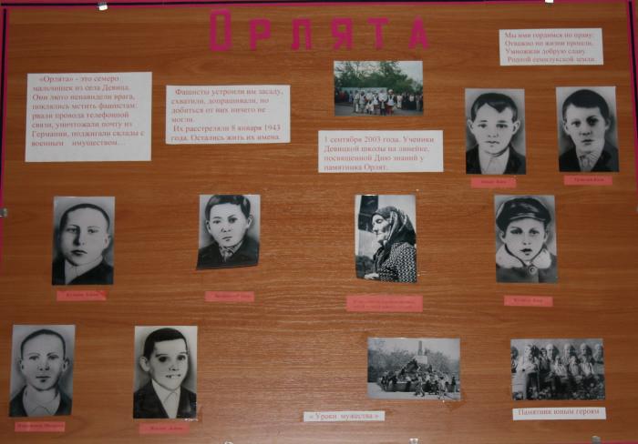 Жители деревни бережно хранят память о мальчиках-героях. Фото: © новости-россии.ru-an.info