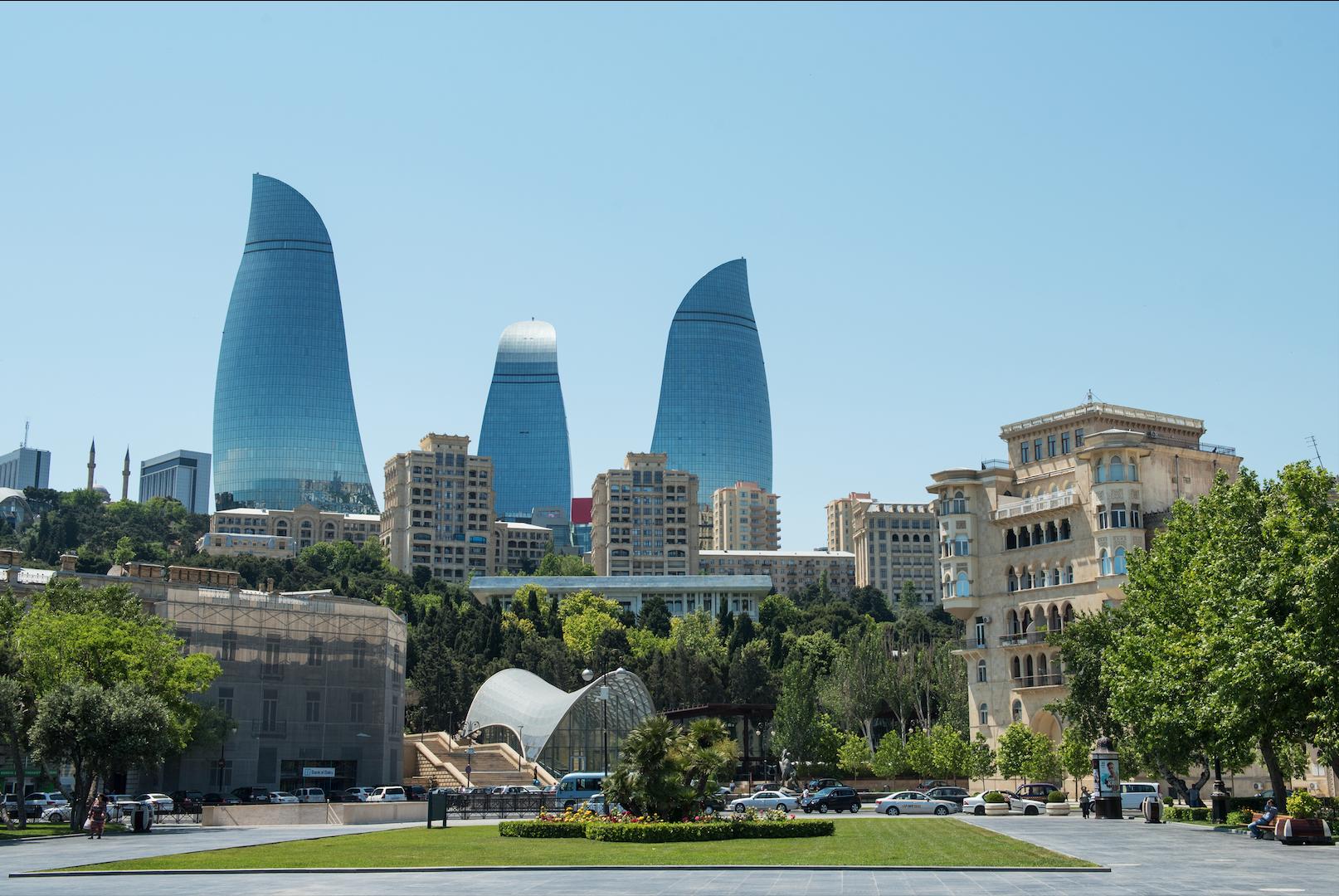 """Баку. Фото: © Sputnik / РИА """"Новости"""" / Мурад Оруджев"""