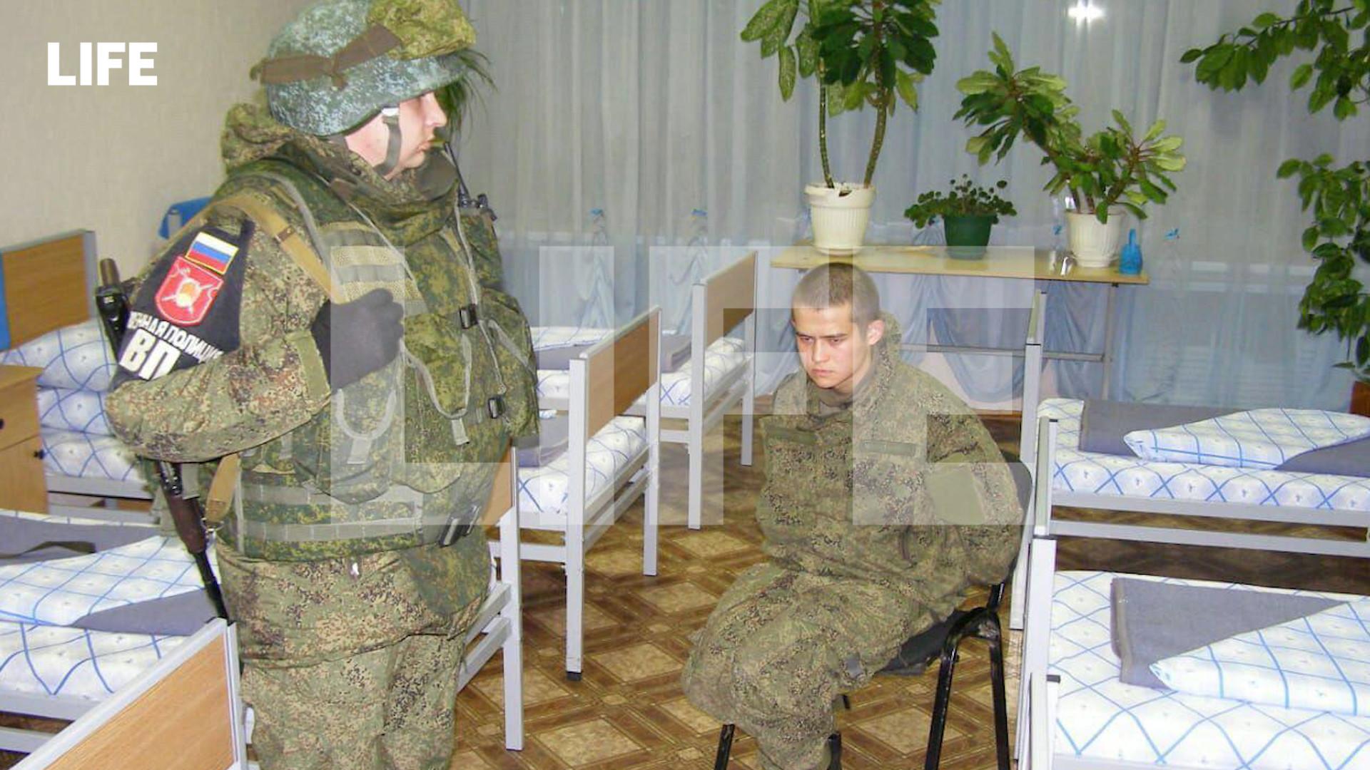 Задержанный стрелок Шамсутдинов. Фото © LIFE